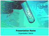 Biology Lab Free PowerPoint Template, TheTemplateWizard