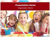 Birthday Party Free PowerPoint Template, TheTemplateWizard