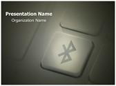 Bluetooth Free PowerPoint Template, TheTemplateWizard