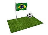 Brazil Football Match Animated Clipart, TheTemplateWizard