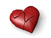 Broken Heart Love Animated Clipart, TheTemplateWizard