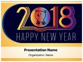Chinese Dog Year PowerPoint Template, TheTemplateWizard