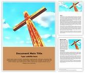 Christian Free Word Template, TheTemplateWizard