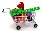 Christmas Gifts Shopping Animated Clipart, TheTemplateWizard