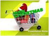 Christmas Gifts Shopping Animated PowerPoint Template, TheTemplateWizard