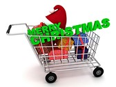 Christmas Gifts Shopping Clipart Image, TheTemplateWizard