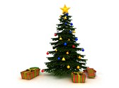 Christmas Tree Star Clipart Image, TheTemplateWizard