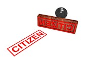 Citizen Stamp Clipart Image, TheTemplateWizard