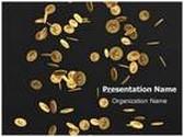 Coins Rain Animated PowerPoint Template, TheTemplateWizard