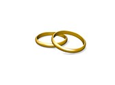 Couple Wedding Rings Clipart Image, TheTemplateWizard