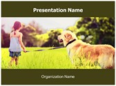 Dog Free PowerPoint Template, TheTemplateWizard
