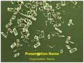 Dollar Money Rain Animated PowerPoint Template, TheTemplateWizard