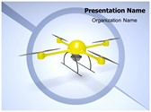 Drone Camera Animated PowerPoint Template, TheTemplateWizard