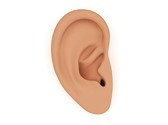 Ear Hearing Clipart Image, TheTemplateWizard