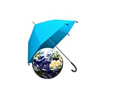 Earth Umbrella Animated Clipart, TheTemplateWizard