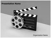 Film Industry Animated PowerPoint Template, TheTemplateWizard
