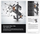 Financial Crisis Free Word Template, TheTemplateWizard