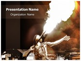 Fire Performance PowerPoint Template, TheTemplateWizard