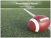 Football Free PowerPoint Template, TheTemplateWizard