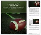 Football Free Word Template, TheTemplateWizard