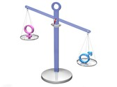 Gender Discrimination Clipart Image, TheTemplateWizard