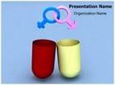 Gender Symbol Pill Animated PowerPoint Template, TheTemplateWizard