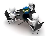 Global Business Meeting Animated Clipart, TheTemplateWizard