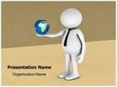 Global Entrepreneur Animated PowerPoint Template, TheTemplateWizard