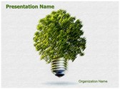 Green Environmental Energy Free PowerPoint Template, TheTemplateWizard