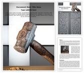 Hammer Word Template, TheTemplateWizard