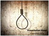 Hangman Execution Animated PowerPoint Template, TheTemplateWizard