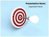 Idea Target Animated PowerPoint Template, TheTemplateWizard