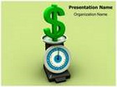 Increasing Dollar Value Animated PowerPoint Template, TheTemplateWizard