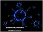 Influenza Virion Animated PowerPoint Template, TheTemplateWizard