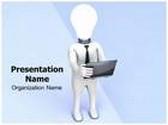 Innovative Idea Animated PowerPoint Template, TheTemplateWizard