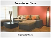 Interior Design Free PowerPoint Template, TheTemplateWizard