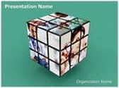 Medical Cube Animated PowerPoint Template, TheTemplateWizard