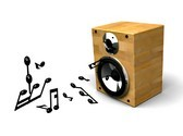 Music Notes Animated Clipart, TheTemplateWizard