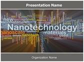 Nanotechnology Free PowerPoint Template, TheTemplateWizard