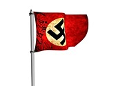 Nazi German Flag Animated Clipart, TheTemplateWizard