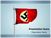 Nazi German Flag Animated PowerPoint Template, TheTemplateWizard