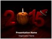 New Year Eve Animated PowerPoint Template, TheTemplateWizard