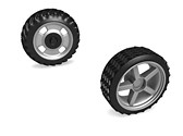 On Road Off Road Tyres Clipart Image, TheTemplateWizard