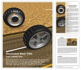 On Road Off Road Tyres Word Template, TheTemplateWizard