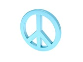 Peace Love Symbol Clipart Image, TheTemplateWizard