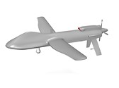 Predator Drone Animated Clipart, TheTemplateWizard