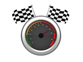 Racing Sports Clipart Image, TheTemplateWizard