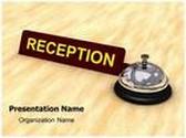 Reception Desk Bell Animated PowerPoint Template, TheTemplateWizard