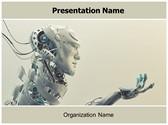 Robotic Free PowerPoint Template, TheTemplateWizard