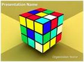 Rubiks Cube Animated PowerPoint Template, TheTemplateWizard